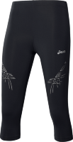 121335 4002 ASICS Stripe Knee Tight (W) / Тайтсы 3/4